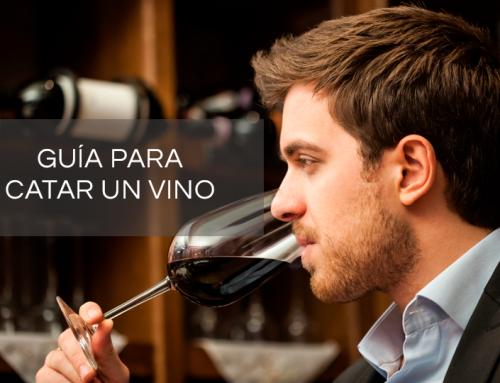 Guía para catar un vino