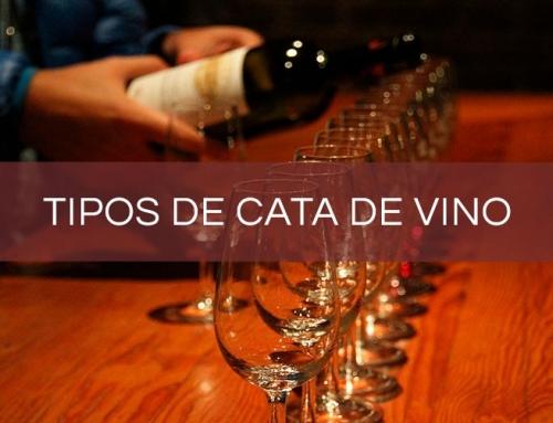 ¿Qué tipos de cata de vino existen?