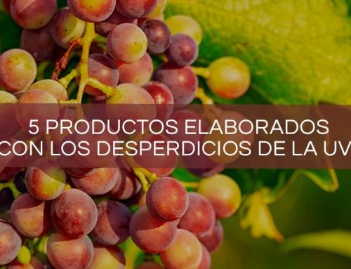 5 productos elaborados con los desperdicios de la uva